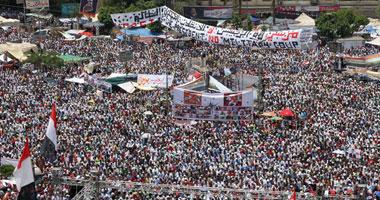تراجع أعداد المعتصمين رابعة العدوية