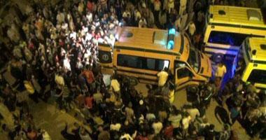 بالصور.. 4 وفيات و15 مصابا فى حوادث تفجيرات سيناء فجر اليوم