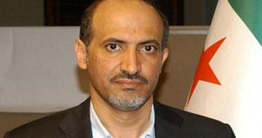 أحمد الجربا زعيم ائتلاف المعارضة السورى