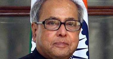 رئيس جمهورية الهند براناب موكراجى