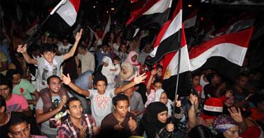 """من أفراح المصريين بعزل """"مرسى"""""""