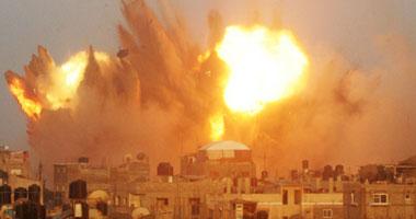 تهجير جديد للفلسطينيين أراضيهم بغزه s720141120826.jpg