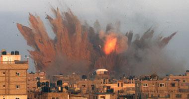 الحرب فى غزة