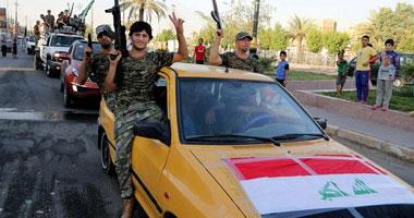 العثور على  مذبح  جنود عراقيين قضوا على يد  داعش  فى تكريت