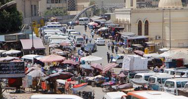 محافظة القاهرة تجرى قرعة لتوزيع باكيات سوقى توشكى وعين حلوان على الباعة