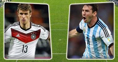 الأرجنتين ألمانيا نهائى العالم بالبرازيل s720141316285.jpg