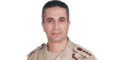 المتحدث العسكرى: القوات المسلحة تصدت لهجوم إرهابى بمساعدة أهالى سيناء
