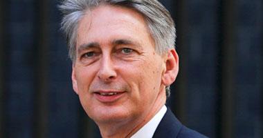 وزير الخارجية البريطانى فيليب هاموند