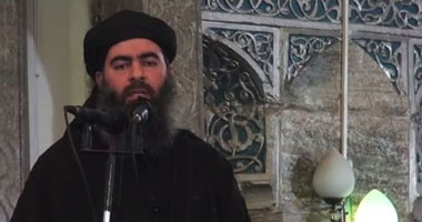 زعيم تنظيم داعش أبوبكر البغدادى