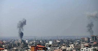طائرات الاحتلال الإسرائيلى تجدد قصفها لقطاع غزة وتستهدف موقعا بخان يونس