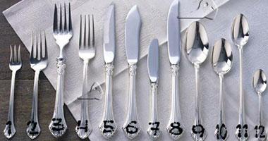 الاستخدامات المختلفة لأدوات المائدة S8201010202543