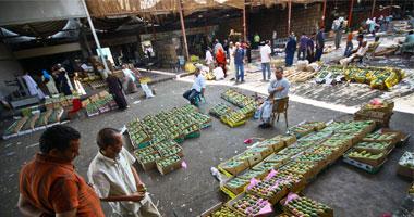 ارتفاع فى أسعار الفاكهة بسوق العبور