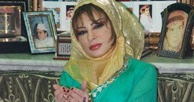 انفراد بالصور.. لماذا بكت الأميرة هند الفاسى أمام قبر والدها قبل وفاتها