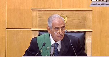 المستشار أحمد رفعت قاضى مبارك