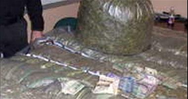 مباحث الإسماعيلية تضبط تاجر مخدرات بالمدينة  S8201114141940