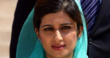 وزيرة خارجية باكستان هينا ربانى