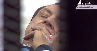 اخبار محاكمة 15/8/2011 التليفزيونى للمحاكمات