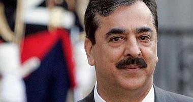 رئيس الوزراء الباكستانى يوسف رضا جيلانى