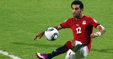 محمد صلاح لاعب فريق المقاولون العرب