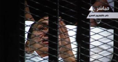 بث مباشر لمحاكمة مبارك 15-8-2011  S820113122926