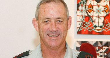 رئيس أركان الجيش الإسرائيلى الجنرال بنى جانتس