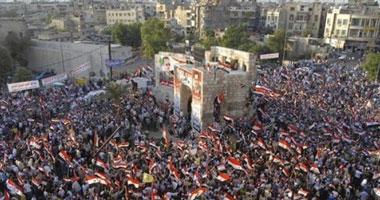 """مقتل 13 شخصا خلال احتجاجات """"جمعة الحماية الدولية"""" بسوريا s82011585824.jpg"""