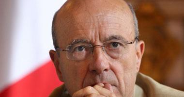 وزير الخارجية الفرنسى آلان جوبيه