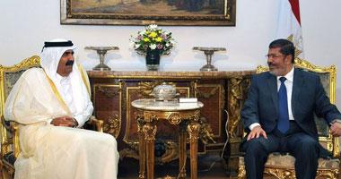 أمير قطر ومرسى
