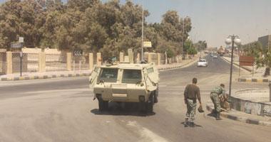الجيش يستعيد سيارته المخطوفة بالعريش