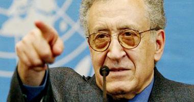المبعوث الدولى العربى المشترك للأزمة السورية الأخضر الإبراهيمى