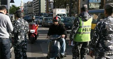 العثور على سيارة بها مواد متفجرة أثناء سير موكب وزير الداخلية اللبنانى