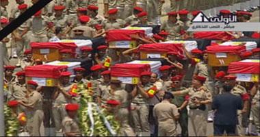 جنازة شهداء الحدود تتحول هتافات