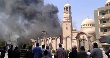 لجان شعبية بسوهاج لحماية كنيسة مارى مرقس والمحلات