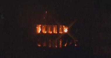 حى الأزبكية: تشكيل لجنة هندسية لتحديد خسائر حريق مستودع البوتاجاز