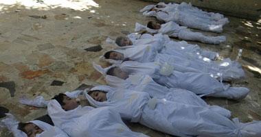 مقتل 43 مدنيا فى قصف لقوات النظام على عدة مدن سورية