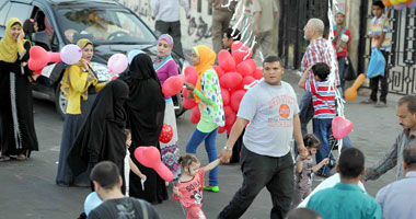 تنزه المواطنون فى العيد