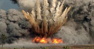فشل محاولة تدمير مدرعة بعبوة ناسفة زرعها إرهابيون بشمال سيناء