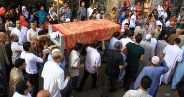 صور جنازة الفنان الراحل سعيد صالح وامنية لم تتحقق