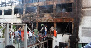 السيطرة على حريق مركب نيلية بكورنيش حلوان دون اصابات