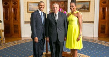 أوباما يستقبل محلب وزعماء أفريقيا