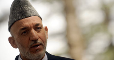حامد كرزاى رئيس أفغانستان