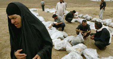 الحوثيون يقيمون مراسم دفن جماعى لقتلاهم فى صنعاء