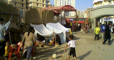 شواطئ الإسكندرية تشهد إقبالا كبيرا خلال العيد s9201012174612.jpg