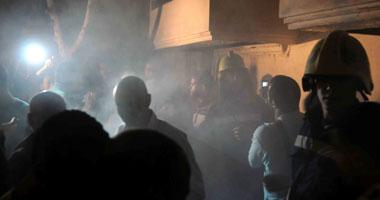 """السيطرة على حريق بقطار الـ vip """"القاهرة ـ أسوان"""" واستبدال الجرار"""