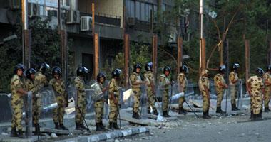 هدوء تام أمام السفارة الإسرائيلية.. وقوات الجيش تعزز تأمينها S9201110183621