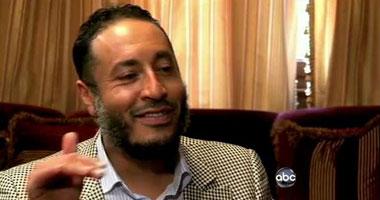 الساعدى القذافى نجل الرئيس الليبى الراحل معمر القذافى