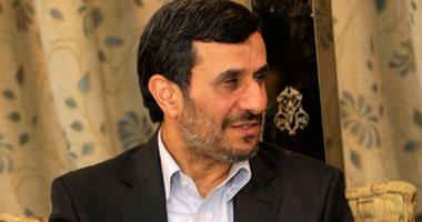 الرئيس الإيرانى محمود أحمدى نجاد