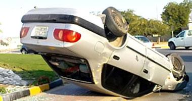 نجاة سفيرة أمريكا حادث تصادم سيارتهم