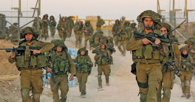 الجيش الإسرائيلى يجرى مناورات حربية – صورة أرشيفية
