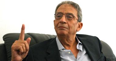 عمرو موسى يعتذر رئاسة الحكومة
